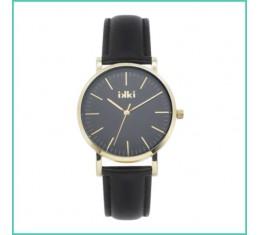IKKI horloge zwart/goud