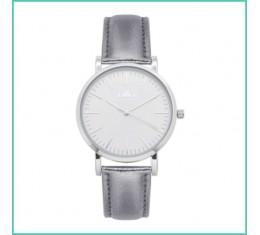 IKKI horloge shiny zilver