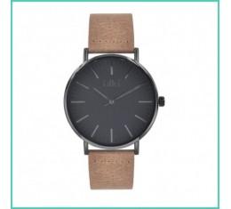 IKKI horloge tabacco/grijs