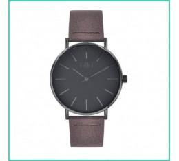 IKKI horloge bruin/grijs