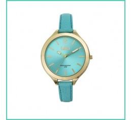 IKKI horloge aqua/goud