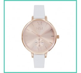 IKKI horloge wit/rosé goud