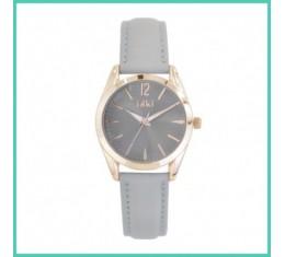 IKKI horloge grijs/rosé goud
