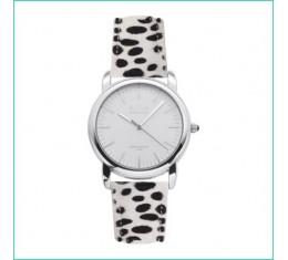 IKKI horloge dalmatiër/zilver