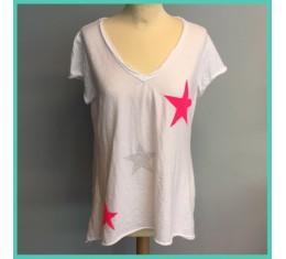 T-shirt fluo ster
