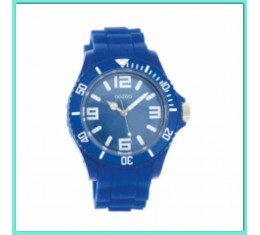 Oozoo silicone horloge blauw