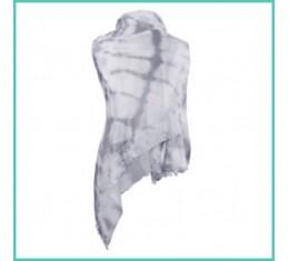 Sjaal tie & dye print
