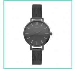 IKKI horloge zwart/zwart