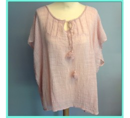 Gypsy blouse roze
