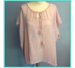 Gypsy blouse roze