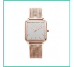 IKKI horloge rosé goud/zilver
