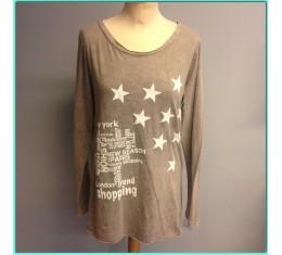 T-shirt sterren