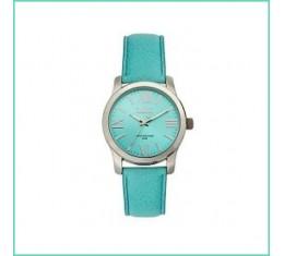 IKKI horloge turquoise/zilver
