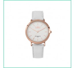 IKKI Horloge wit/rose goud