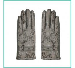 Handschoenen slangenprint