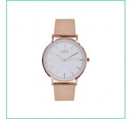 IKKI horloge rosé goud/wit
