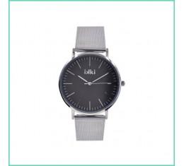 IKKI horloge zilver/grijs